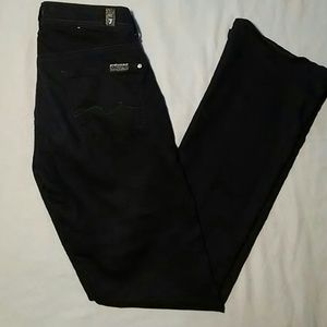 7 FOR ALL MANKIND BOOT CUT JEANS/PANTS-SIZE 25